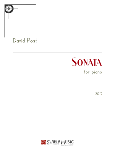 Sonata for Piano (2015) recording