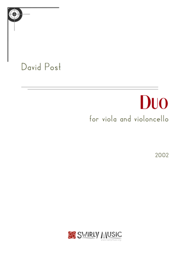 Duo for Viola and Violoncello (2002) recording