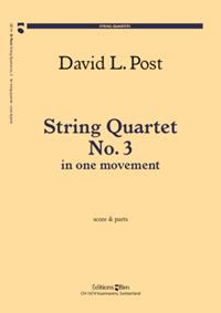 String Quartet #3 (2003) recording