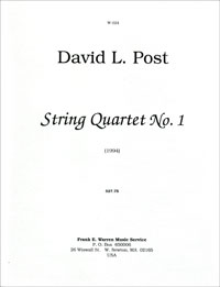 String Quartet #1 (1992) recording