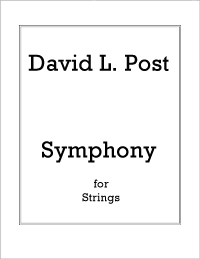 Symphony for Strings (2007) recording