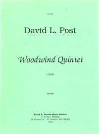 Woodwind Quintet (1993) recording