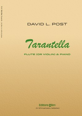 Tarantella for flute (or violin) and piano (2011) recording