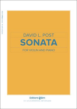 Sonata for Violin & Piano (2008) recording